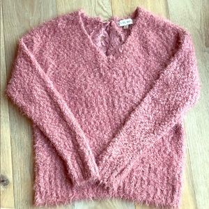 Knox Rose Sweater mauve/pink size L large